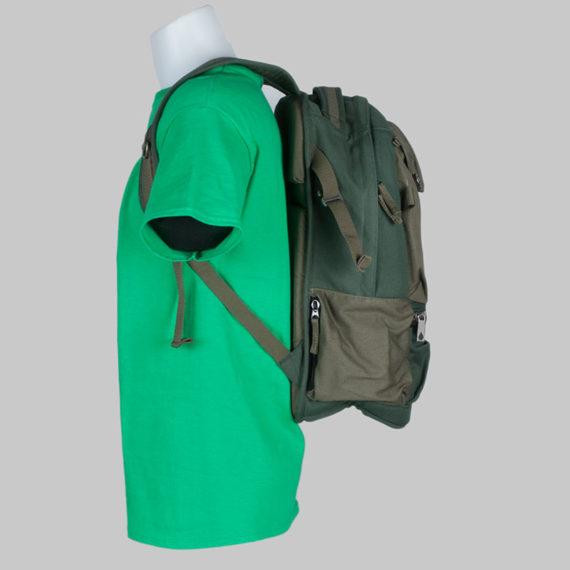 Volcom Clothing Backpack Symptom Bag Green 2