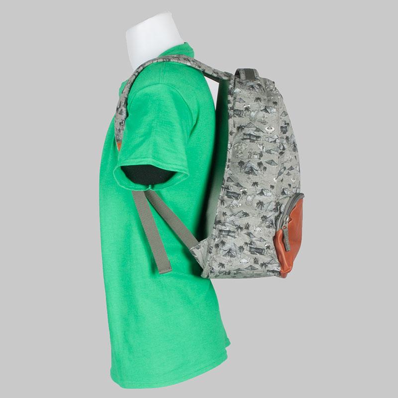 Volcom Clothing Backpack Basis Canvas Slate 2