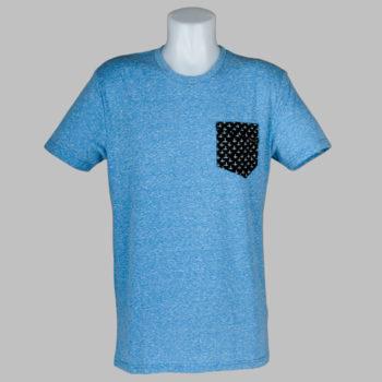 Volcom Clothing Sprocket Pocket T-Shirt Marina Blue