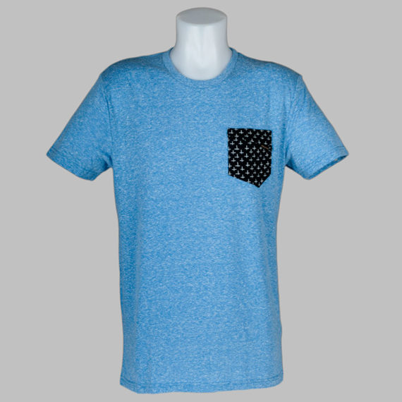 Volcom Clothing Sprocket Pocket T-Shirt Marina Blue 1