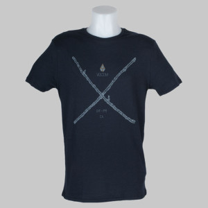 Volcom Clothing T-Shirt Pick Up Sticks Blue Black