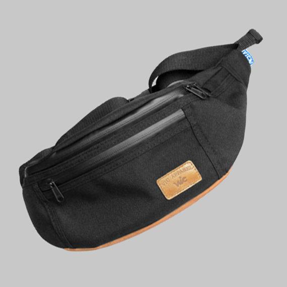Vic Apparel Waist Bag Black