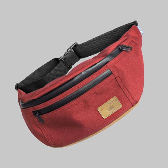 Vic Apparel Waist Bag Red