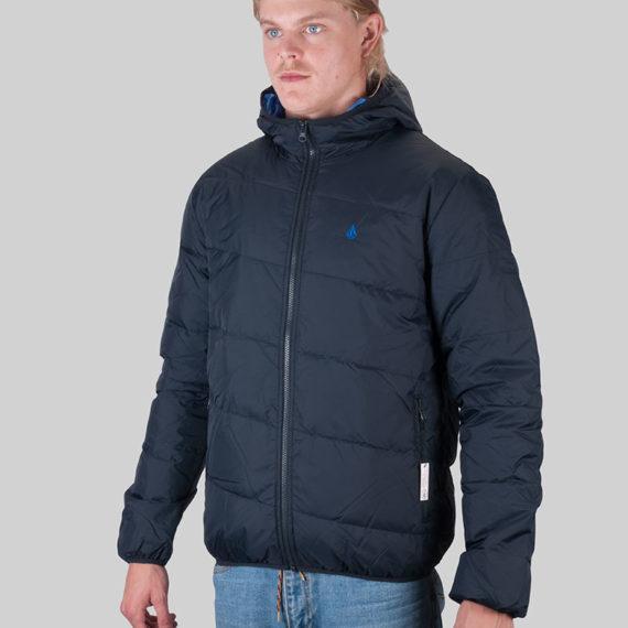 Volcom Puff Von Puff Hood Jacket Black