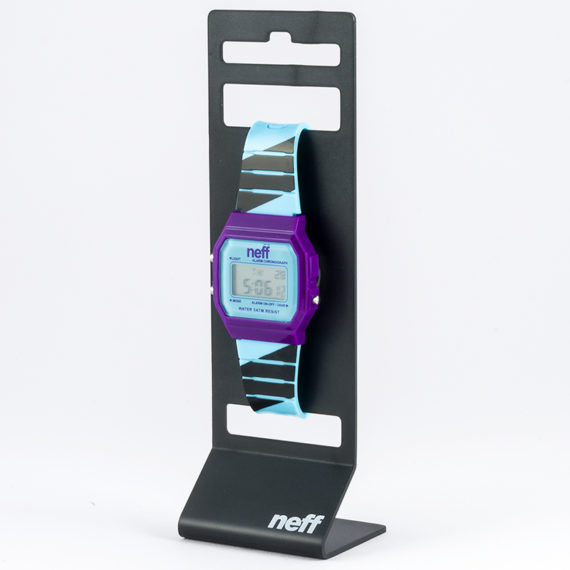 Neff Watches Flava Watch Purple Cyan Black 1