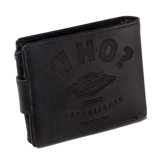 Who Clothing Wallet Black