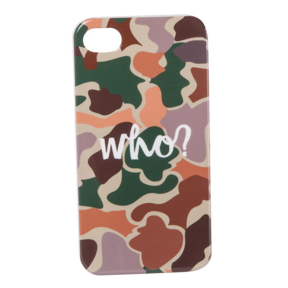 Who Clothing iPhone 4 Camo Case