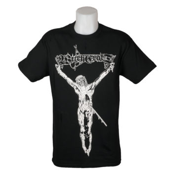 Witchcraft Skateboards Crucified T-Shirt Black