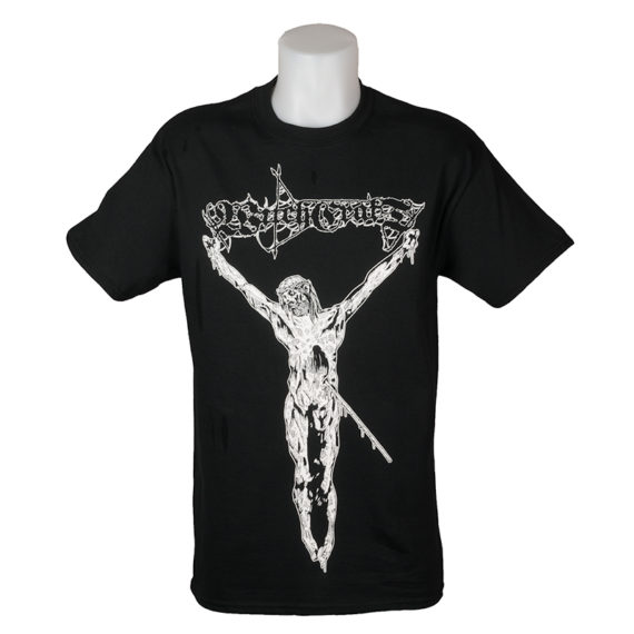 Witchcraft Skateboards Crucified T-Shirt Black 1
