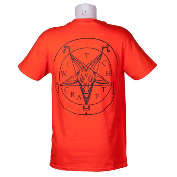 Witchcraft Skateboards Satan T-Shirt Burnt Orange