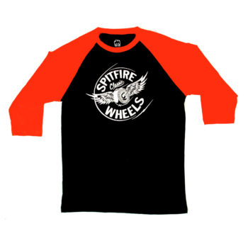 SPITFIRE Flying Classic Raglan - Navy/Orange