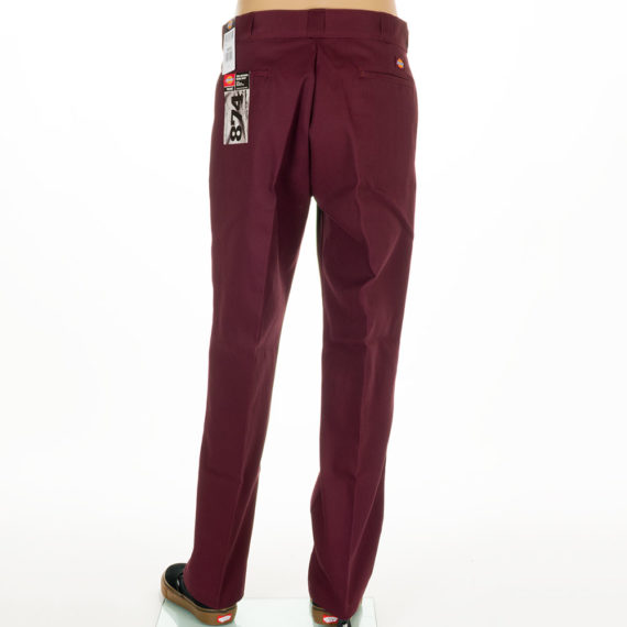 Dickies Clothing 874 Work Pants Maroon