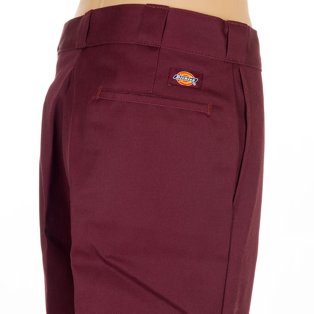 Dickies clothing 874 work pants maroon at skate pharm for Dickey shirts clothing co