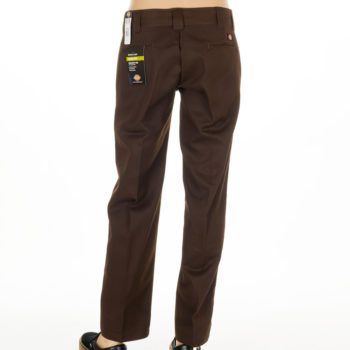 Dickies Slim Straight Leg Work Pant Chocolate Brown