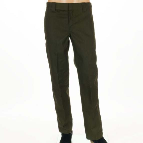 Dickies Slim Straight Leg Work Pant Green