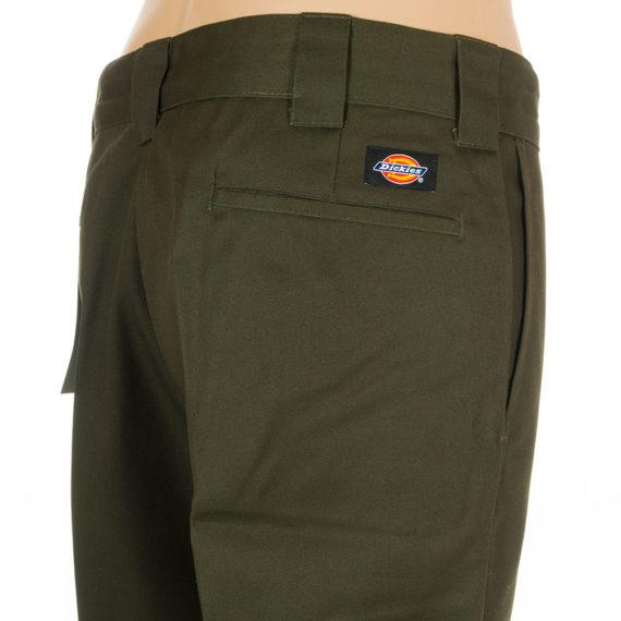 Dickies Slim Straight Leg Work Pant Green