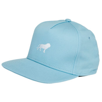Hopps Skateboards Hat Lion Light Blue