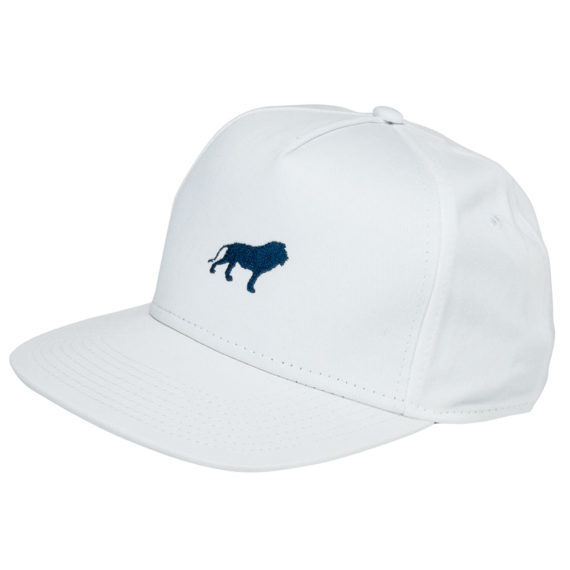 Hopps Skateboards Hat Lion White