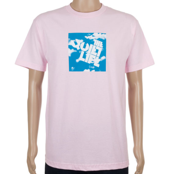Quiet Life Clothing T-Shirt Clouds Block Pink