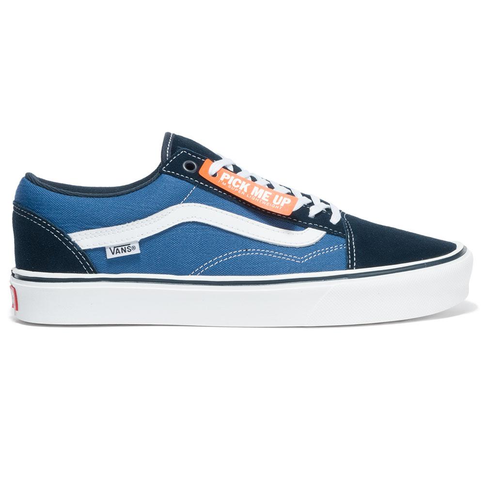 vans old skool lite shoes navy white at skate pharm. Black Bedroom Furniture Sets. Home Design Ideas