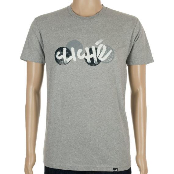 Cliche T-Shirt City Grate Heather Grey
