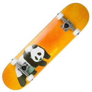 Complete Skateboards - Enjoi Complete Panda Animal Skateboard Setup Orange