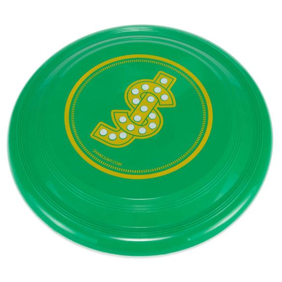 Shake Junt Logo Frisbee Green