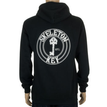 Skeleton Key Hoodie Factory Dot Black