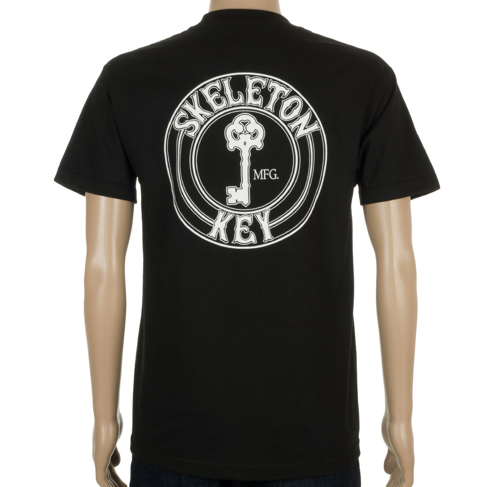 Skeleton Key Mfg T-Shirt Factory Dot Black