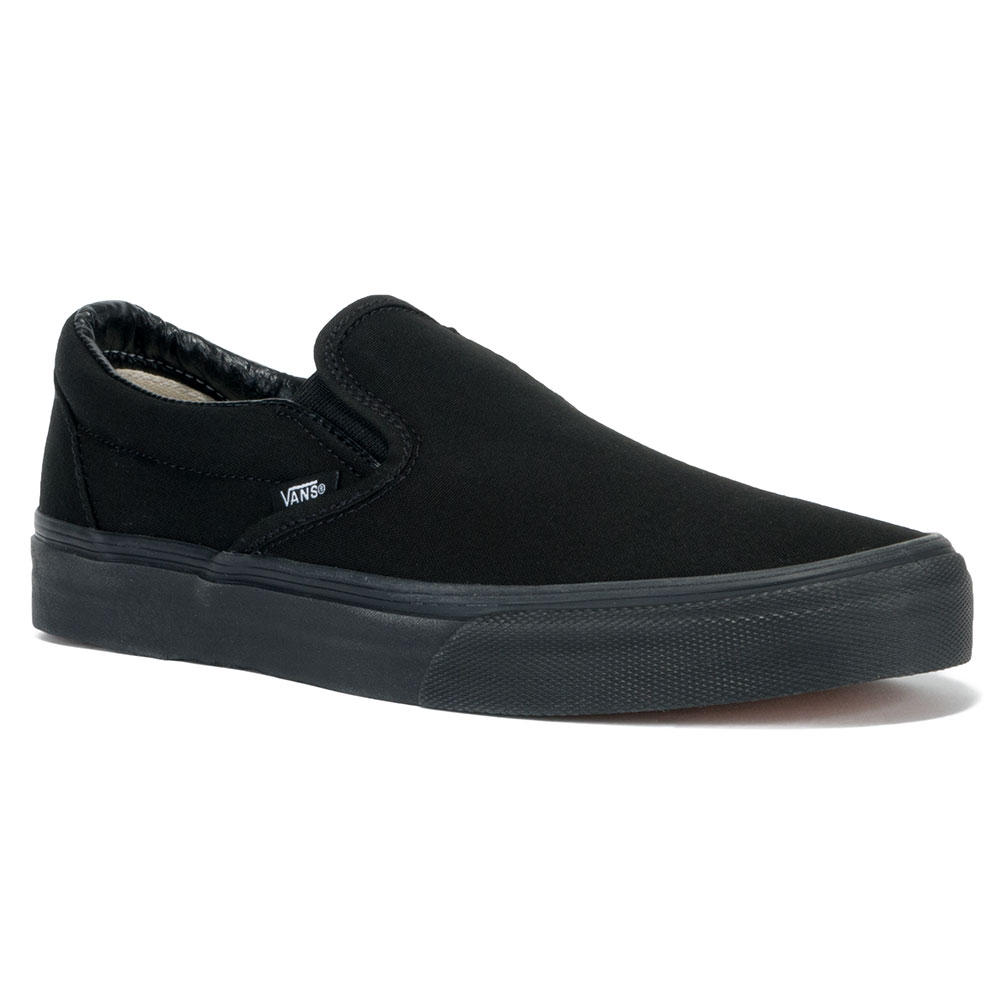 Vans Slip On Shoe Black Black at Skate Pharm