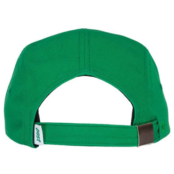 Post Details 5 Panel Tennis Anyone Hat Green