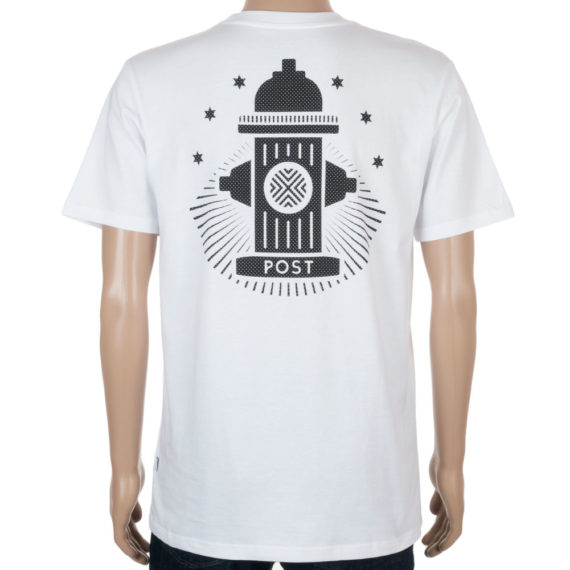 Post Details T-Shirt Tennis Anyone Hydrant Logo White
