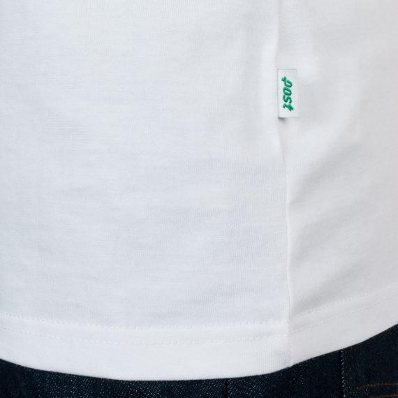 Post Details T-Shirt Tennis Anyone Ball Logo White