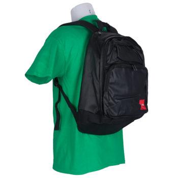 Chocolate Backpack Waxed Canvas Bag