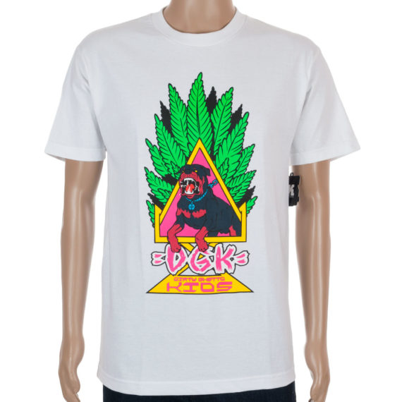 DGK Skateboards T-Shirt Homage Dog White
