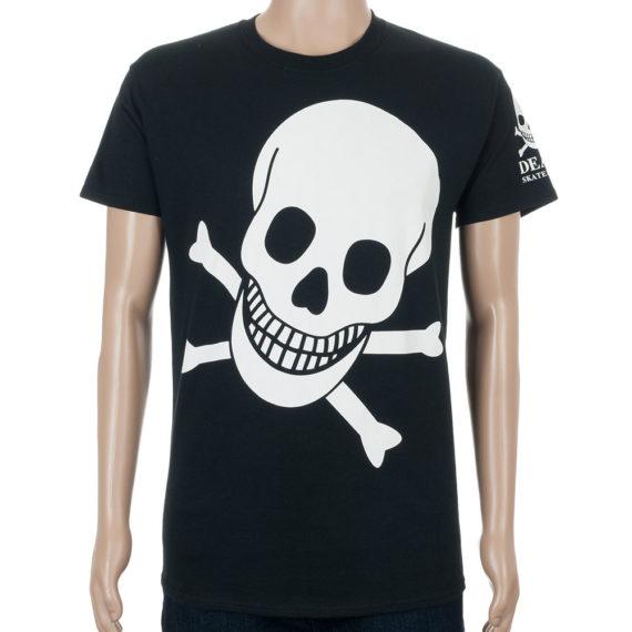 Death Big Skull T-Shirt Black