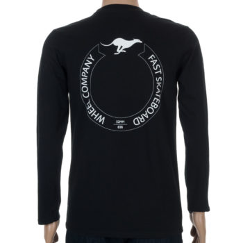 Fast Wheels Long Sleeve T-Shirt Black