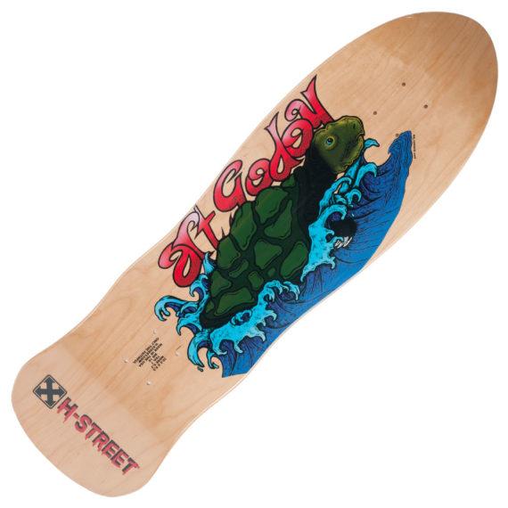 "H-Street Art Godoy Sea Turtle Pro Deck 9.5"""