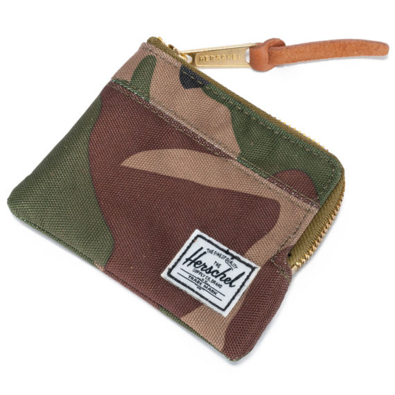 Herschel Johnny Wallet Woodland Camo
