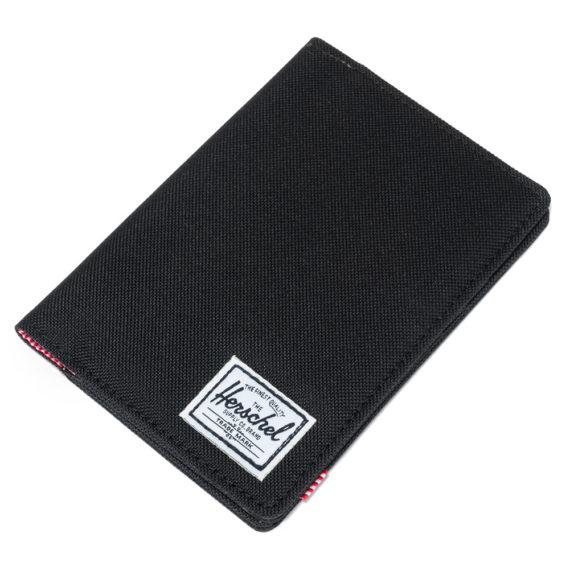 Herschel Raynor Passport Holder Black
