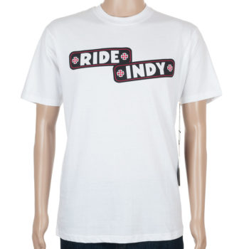Independent Sticker Bar T-Shirt White
