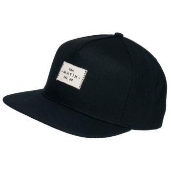 Matix Scout Snapback Hat Black