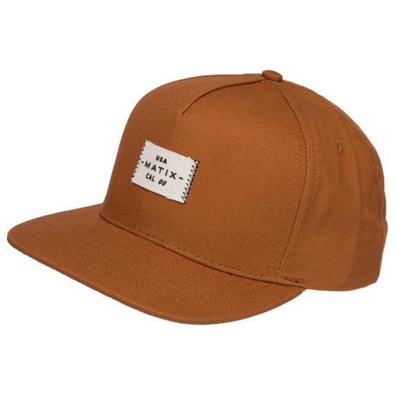 Matix Scout Snapback Hat Caramel