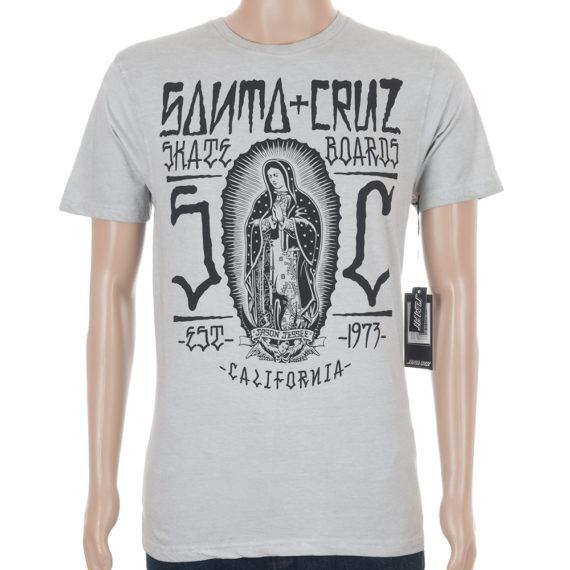 Santa Cruz Guadalupe Inked T-Shirt Carbon White