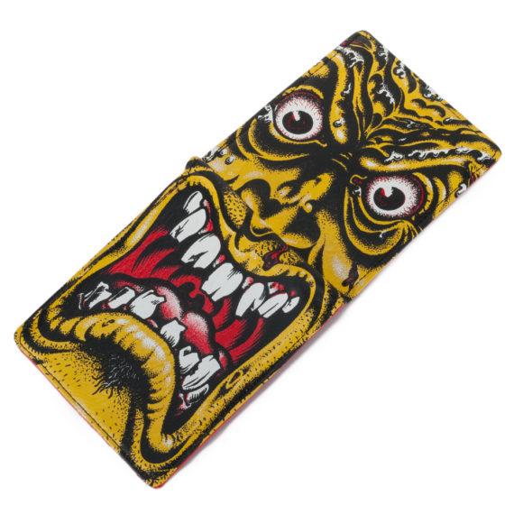Santa Cruz Rob Roskopp Face Wallet Yellow