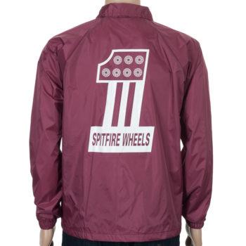 Spitfire #1 Coach Jacket Maroon