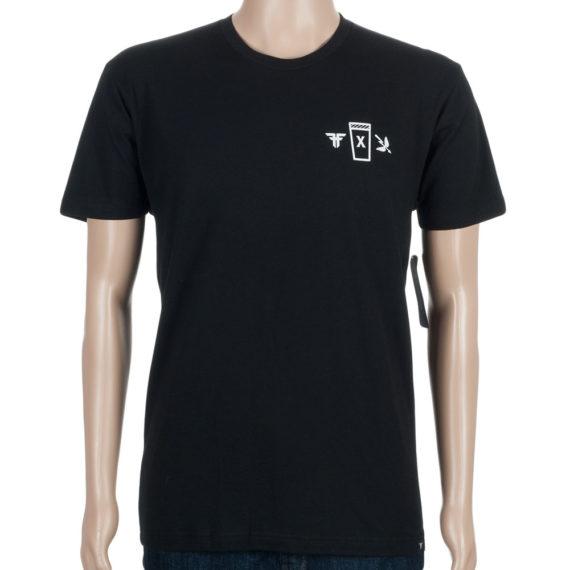 Fallen Shoes T-Shirt Saint Archer Black