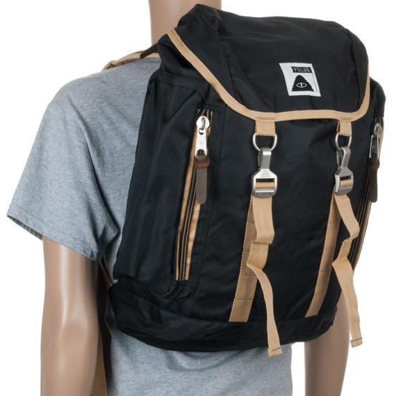 Poler Stuff Rucksack Bag Black