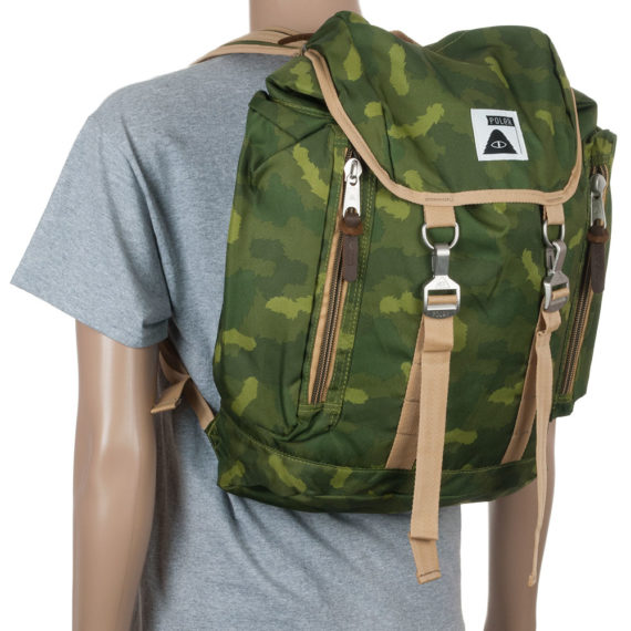 Poler Stuff Rucksack Bag Camo Green
