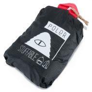 Poler Stuff Stuffable Bag Black Sweet Berry